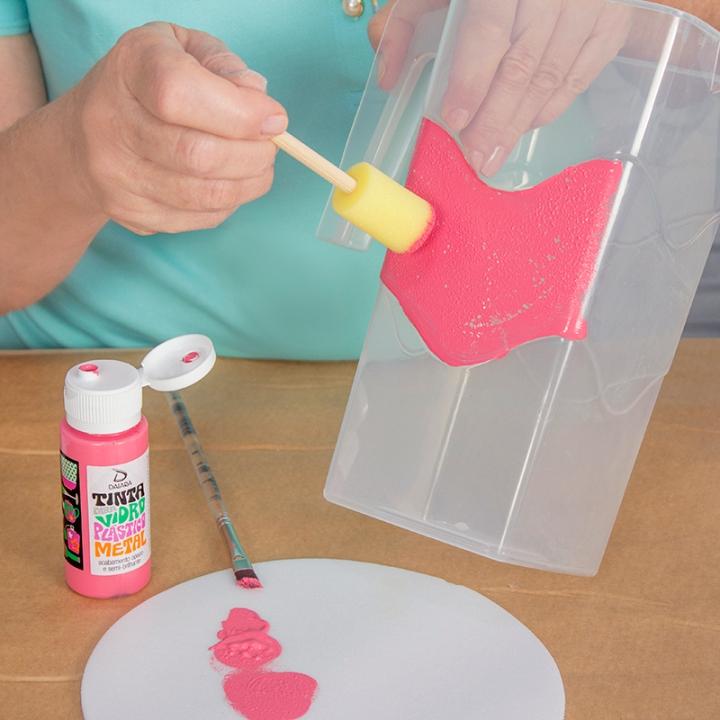 Como pintar pl stico i ra capraro - Como pintar botellas de plastico ...